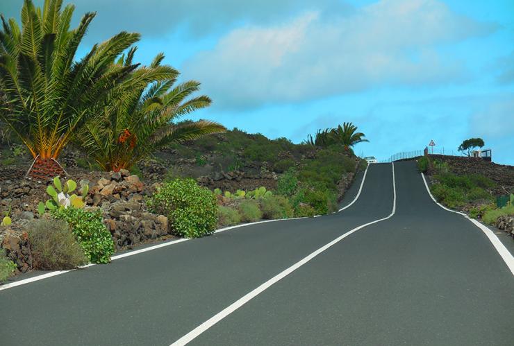 Rennveloferien auf Lanzarote, Kanarische Inseln, Spanien