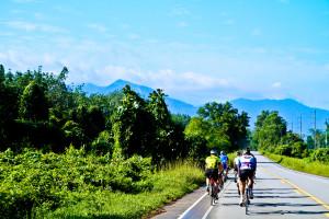 Per Rennrad durch Thailand