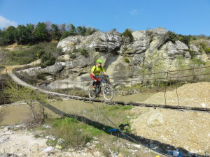 Biken in Albanien